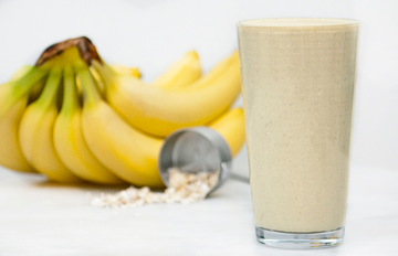 Fuel-6 Recipe - Banana-Oat Protein Smoothie