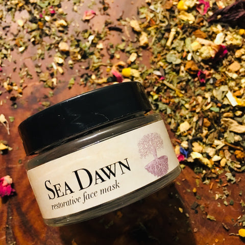 Sea Dawn, face mask