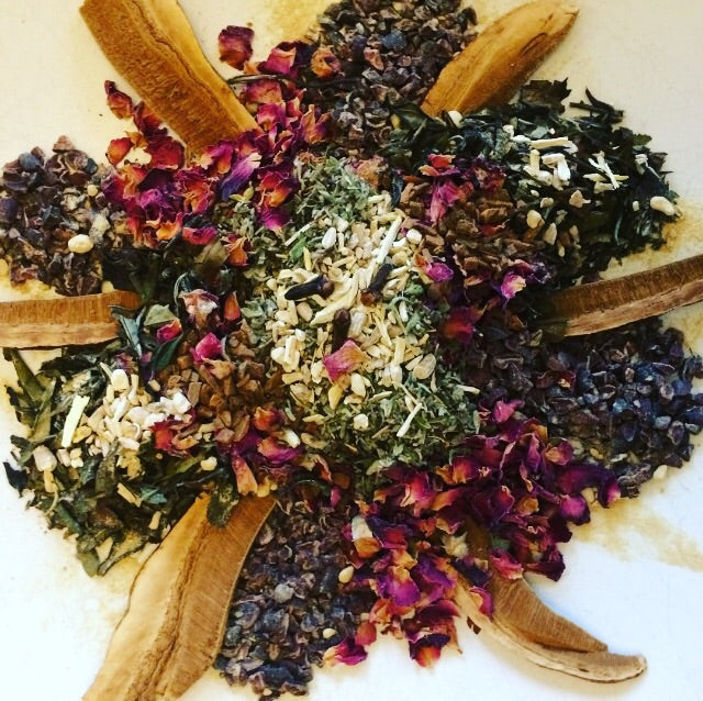 Love Potion -- White Tea & Herbs, caffeine
