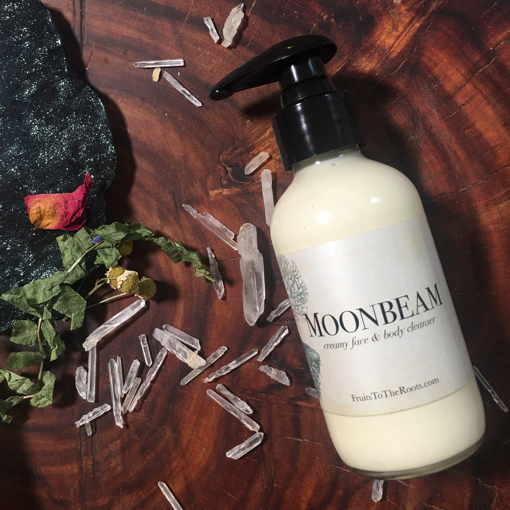 Moonbeam, creamy cleanser
