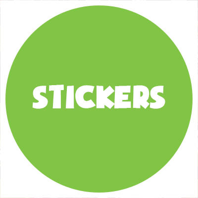 3. Stickers