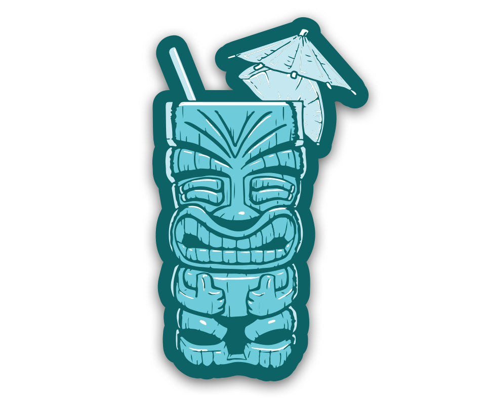 "Cheeky Tiki - 6"" Vinyl Decal"