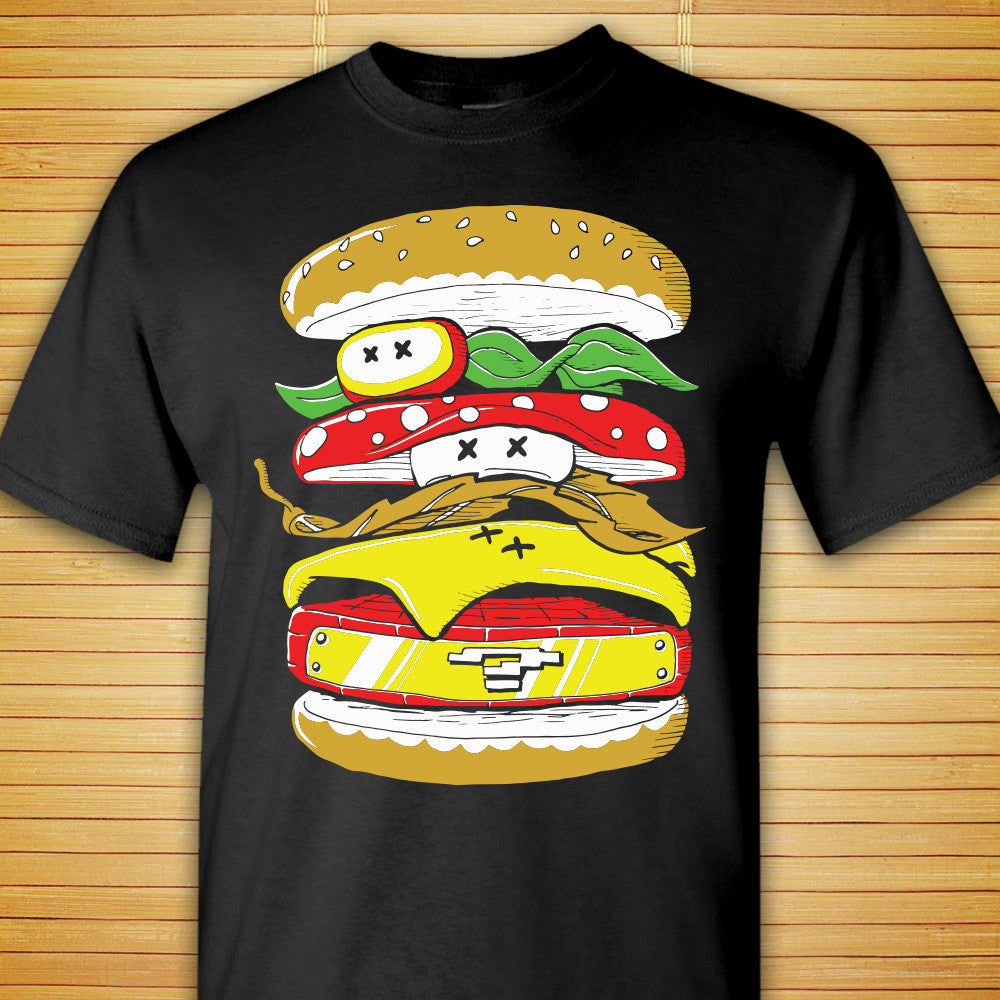 Power Burger - Shirt