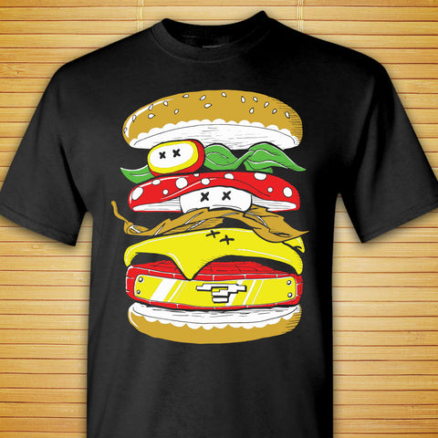 Classic Power Burger - Shirt