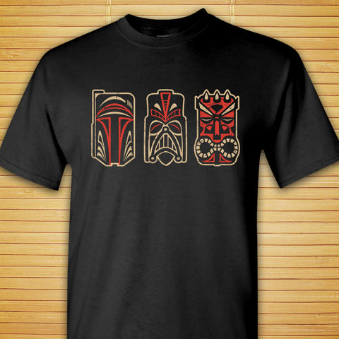 Tiki Star Wars Villains - Shirt