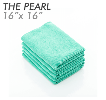 The Rag Company – THE PEARL Green Microfiber Ceramic Coating Towel