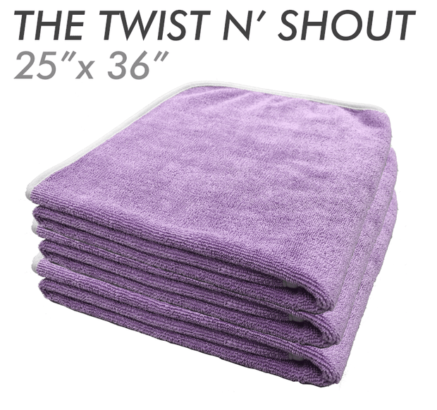 The Rag Company – TWIST N' SHOUT Twisted Loop Drying Towel – 64cm x 92cm
