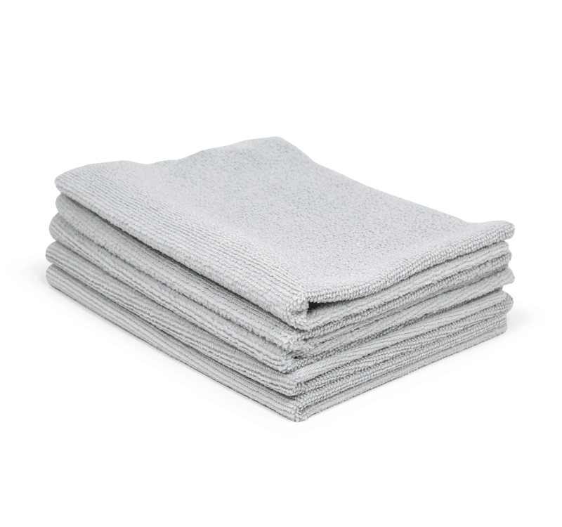 The Rag Company – Light Grey Edgeless All-Purpose Utility Towel 24-Pack