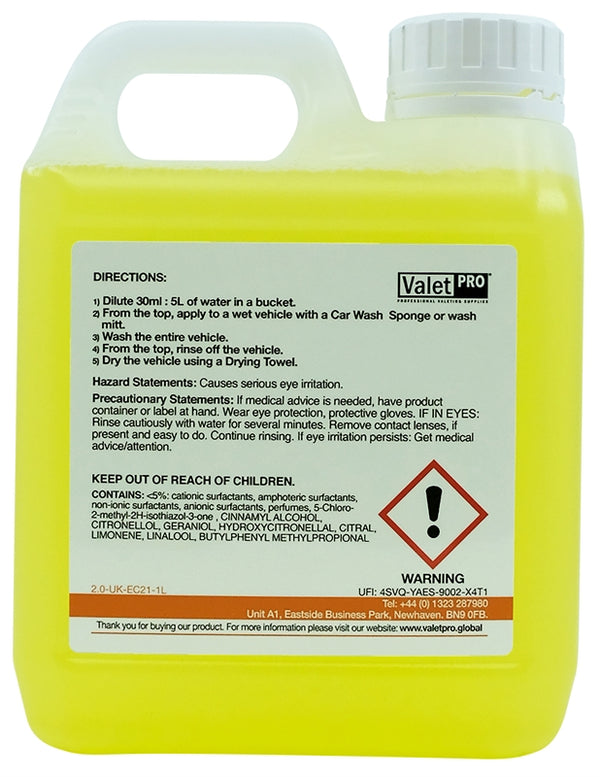 ValetPRO Advanced Poseidon Car Wash - 1L