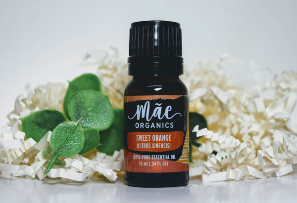 Sweet Orange (Citrus Sinensis) Essential Oil - 10mL Bottle