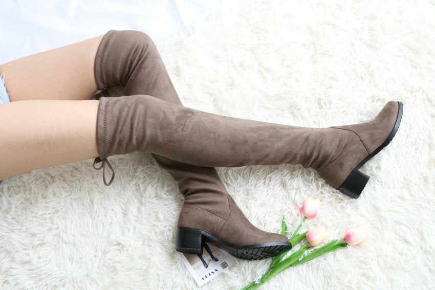 This Ain't Over-the Knee Boots