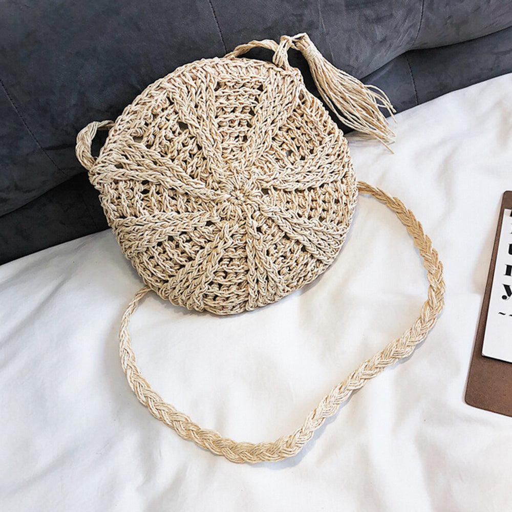 Round Knitted Bag