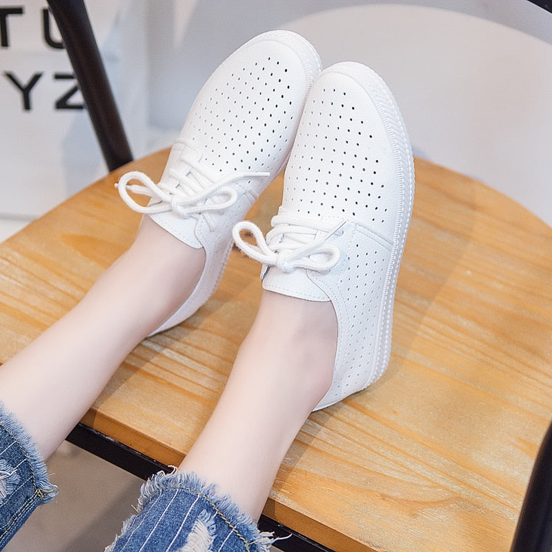 Casual Summer Sneakers With Holes