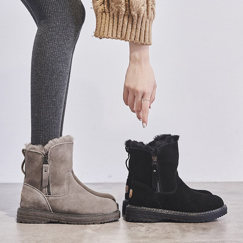 NEW RULES Winter Leather BOOTS