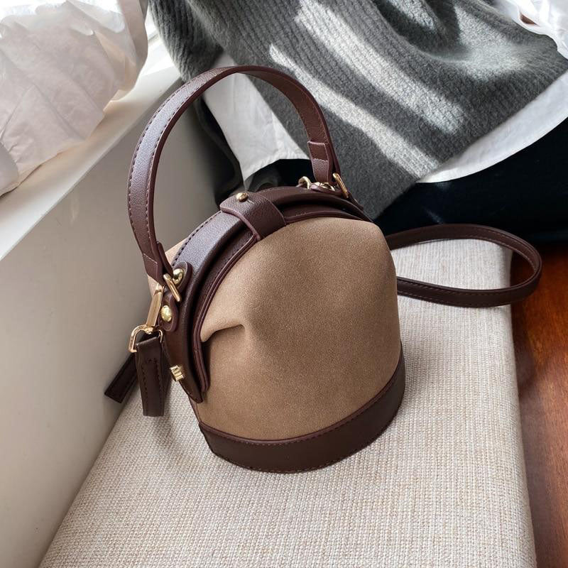Weekend In Paris Bucket Crossbody Bag