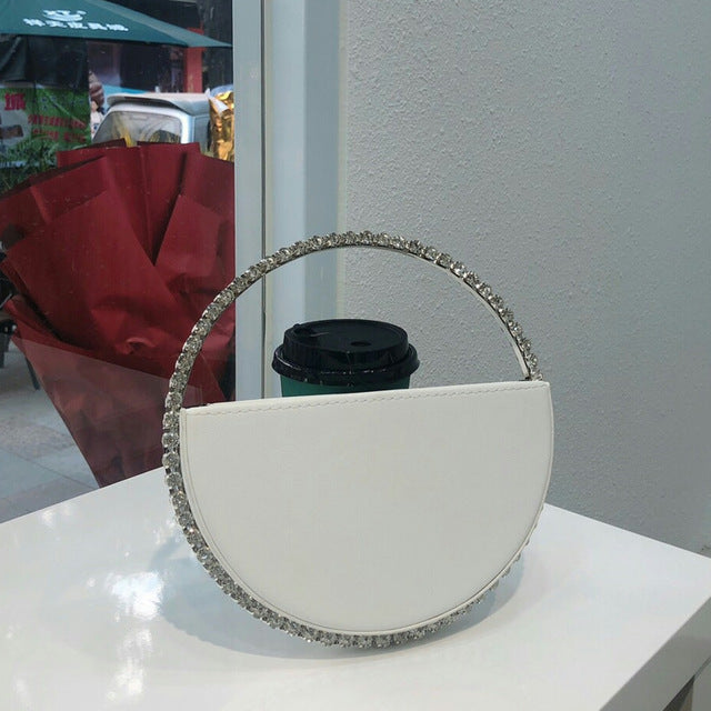 Center Of Attention Diamond Clutch
