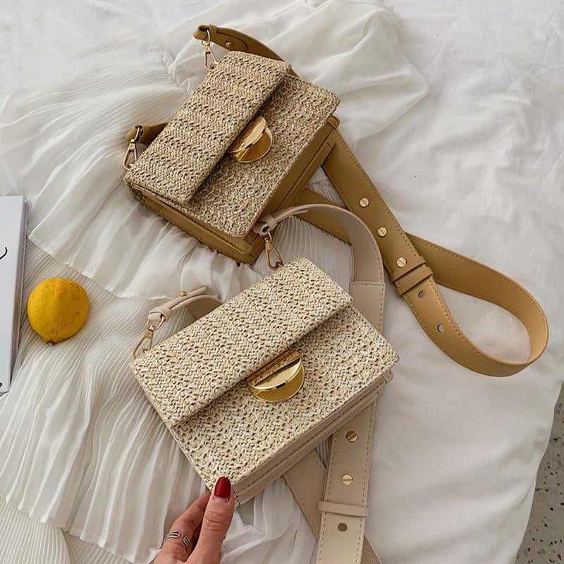 Crossbody Bohemia Wicker Bag