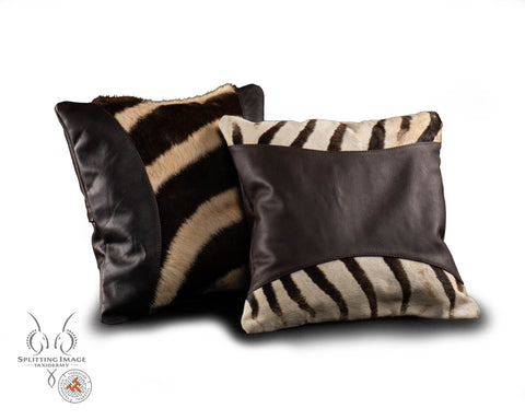 Zebra Throw Cushion