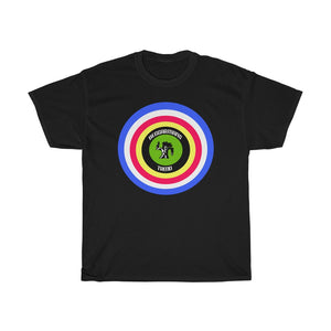 Target logo bedggarmans trend.Pop art..Unisex Heavy Cotton Tee