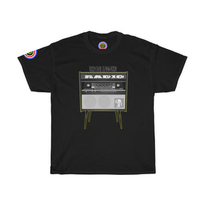 Vintage Radio..Unisex Heavy Cotton Tee