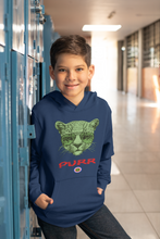 Load image into Gallery viewer, Cat in glasses..Kids Hoodie