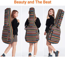 Load image into Gallery viewer, CAHAYA Bohemian Vintage Guitar Bag