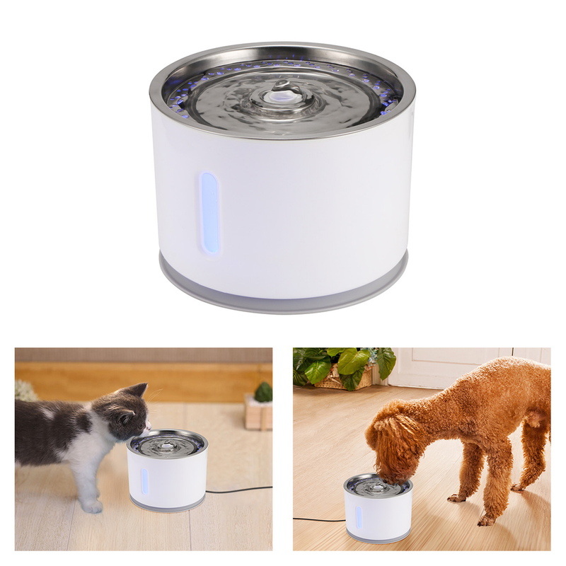 Stimulating Pet Water Fountain - Pet Me More Best Pet Hair/Lint Removal Brush Remover for Clothes, Furniture & Carpet