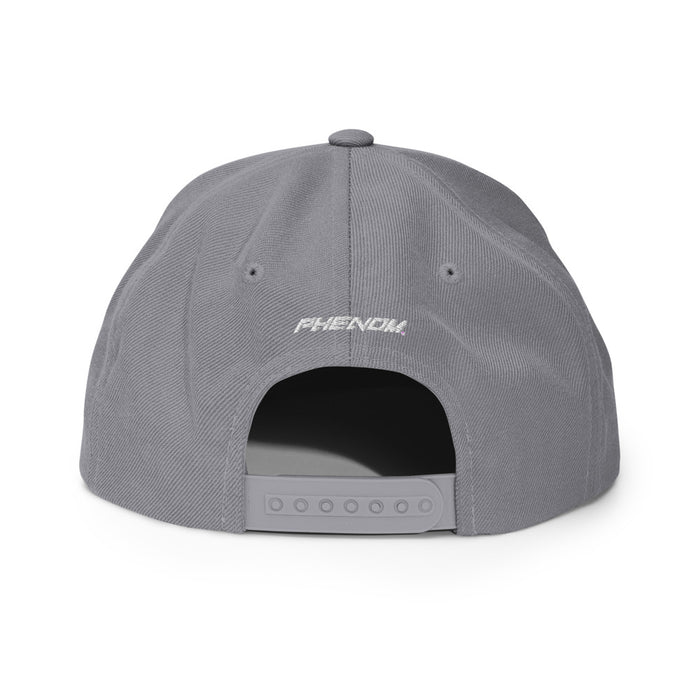 The Creek Snapback Hat - Grey
