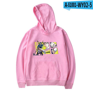 2020 New Arrival GOLDEN KAMUY Hip Pop Sweatshirt Harajuku Cute Outwear High Quality Pullover Autumn Winter Printed Tops