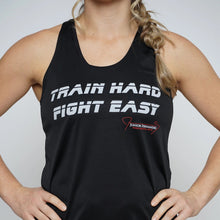 Load image into Gallery viewer, Train Hard Fight Esay Badger Women's Racerback Tank