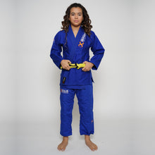 Load image into Gallery viewer, Jiu Jitsu Gi Kids White Braus