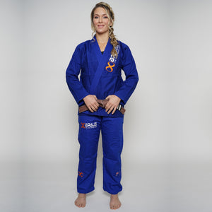 Jiu Jitsu Gi Female Blue