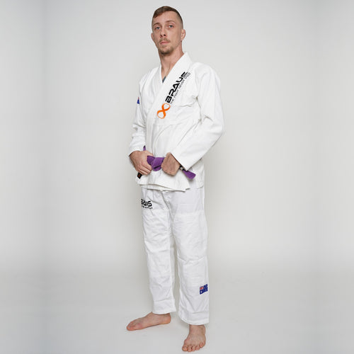 Pro Light Jiu Jitsu Gi White Braus