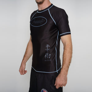Rash Guard Junior Fernandes Shorts  Sleeve Black