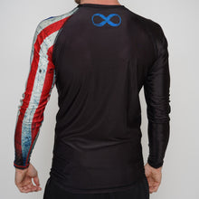 Load image into Gallery viewer, Rash Guard  Adult  Usa Long Sleeve Braus