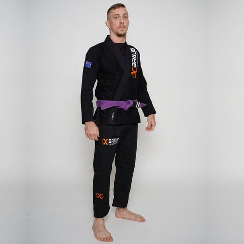 Pro Light Jiu Jitsu Gi Black Braus