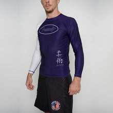 Load image into Gallery viewer, Rash Guard Junior Fernandes Long Sleeve Belt Rank