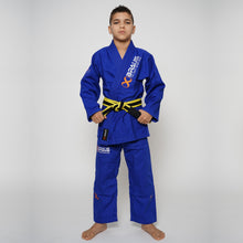 Load image into Gallery viewer, Jiu Jitsu Gi Kids Blue Braus