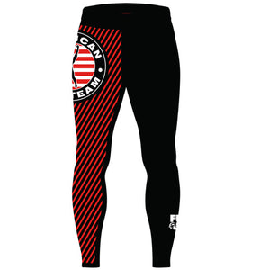 Men pants / Spats Script American Top Team