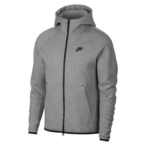 Nike Old Season Tech Fleece Hoodie Grey - LUDOMODUS