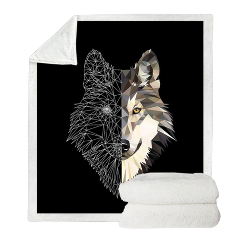 Couverture Loup Origami