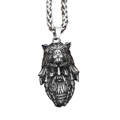 Collier Loup Chasseur