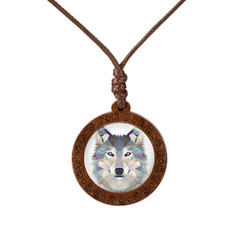 Collier Loup <br> Origami