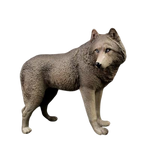 Figurine Loup Grand Format