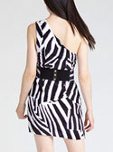 GUESS MARCIANO ANIMALIER PRINT DRESS image