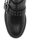GUESS Black Fifii High Top Womens Boots front view