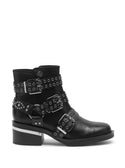 GUESS Black Fifii High Top Womens Boots side view