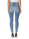 GUESS High-Rise 1981 Skinny Denim Jeans in Light Blue Wash image
