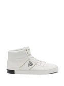 GUESS High Top Penzo White Mens Sneakers side view