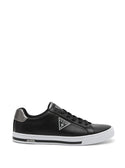 GUESS Logo Low Top Mako Black Mens Sneakers side view